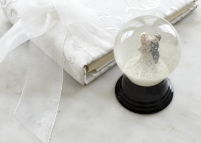 Wedding Snow Globe